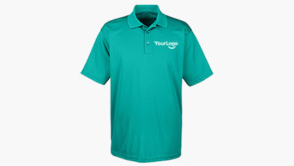 UltraClub Men's Cool and Dry Mesh Pique Polo