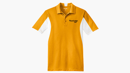 Men's Side Blocked Micropique Sport-Wick® Polo