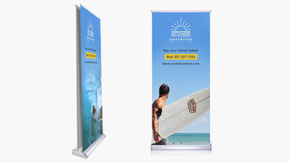 Deluxe Retractable Banners