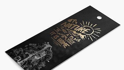 Foil Bookmarks