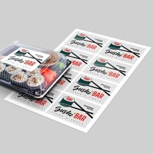 custom printed sheet labels