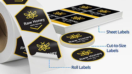 Label Printing Services Print Custom Business And