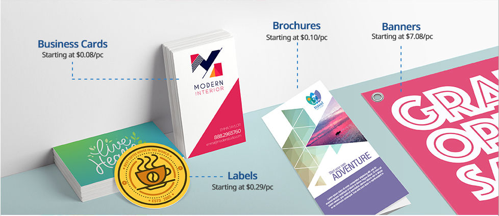 Online printing services printrunner featured products to start your business reheart Choice Image