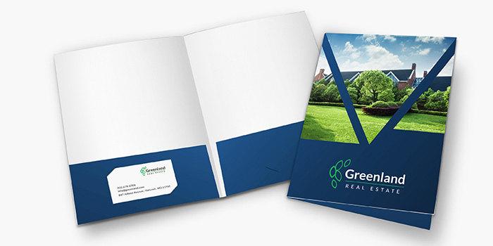 custom presentation  u0026 pocket folders