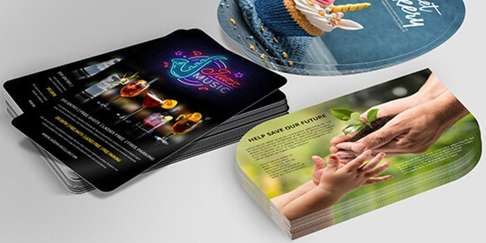 custom shaped flyers for your business