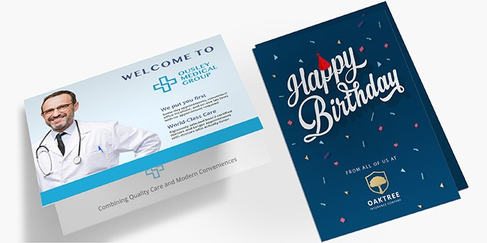 Affordable Greeting Cards Printing Printrunner Com