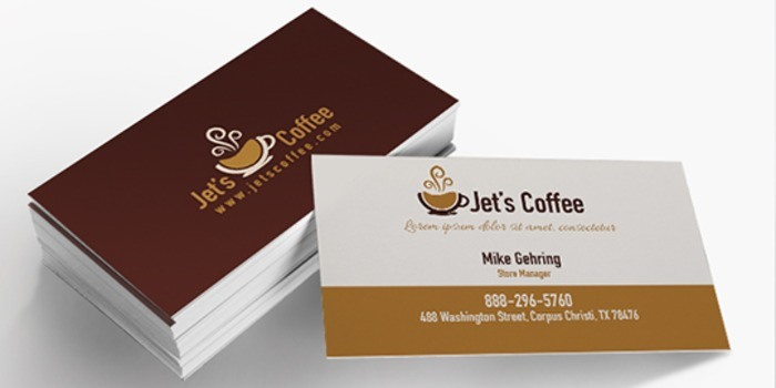 standard business cards - Standard Business Card