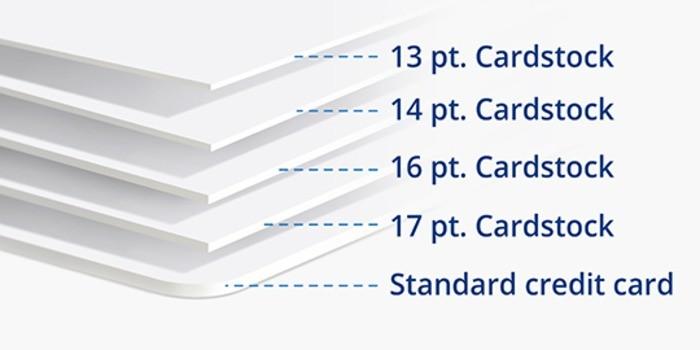 Standard business card printing online printrunner standard business cards thickness colourmoves