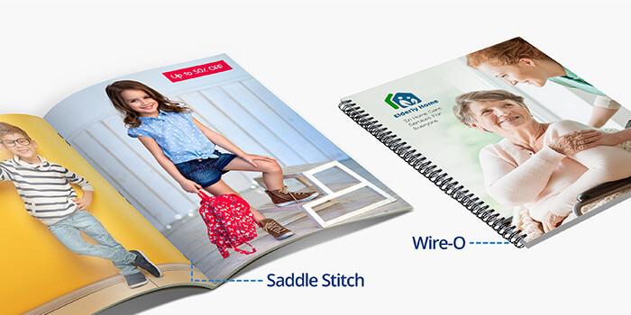catalog printing short run or bulk catalogs free shipping