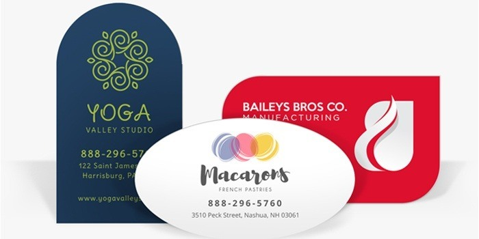 Die cut business card printing printrunner die cut business cards colourmoves