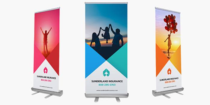 image about Making a Printable Banner named Retractable Banners
