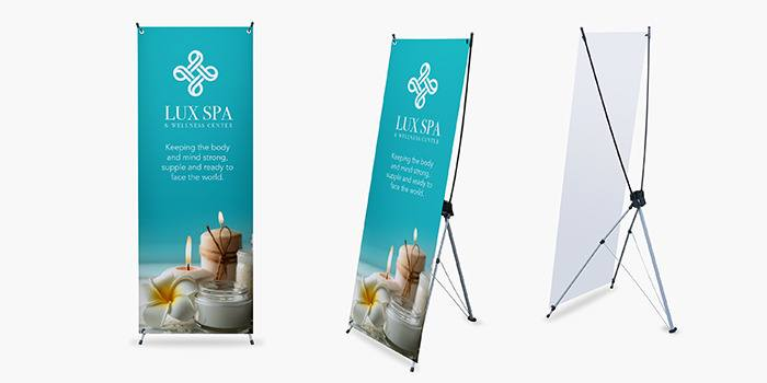 X Stand Banners X Frame Banners Printrunner Com