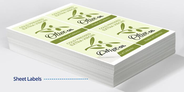 custom printed sheet labels