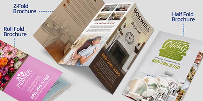 Full Color Brochures Printing  U0026 Design Services