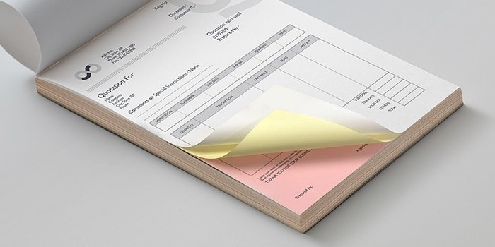 Custom carbonless forms business forms printrunner carbonless forms reheart Image collections