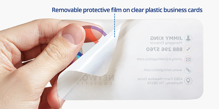 Plastic business cards built for your business printrunner plastic business cards protective film colourmoves