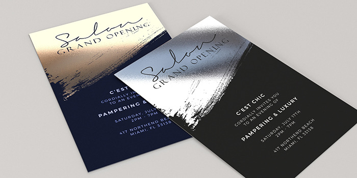 Foil Invitations Great For Weddings And Events Printrunner