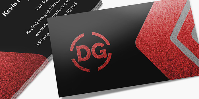 Metallic Business Cards Metallic And Foil Finish Printrunner