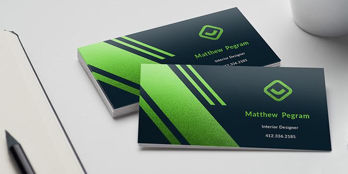 Metallic Business Cards Metallic And Foil Finish Printrunner