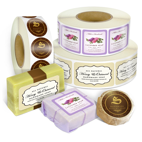 roll soap labels custom label printing printrunnercom